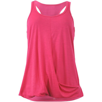 Clothing Women Tops / Sleeveless T-shirts Marika Tank  Rose Effect Flat Belly PINK