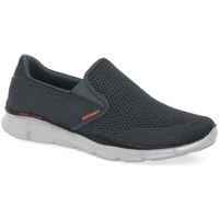 Shoes Men Slip ons Skechers Equalizer Double Mens Slip On Sports Shoes grey
