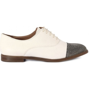 Shoes Women Derby Shoes Carmens Padova SANTIAGO CREMA Beige
