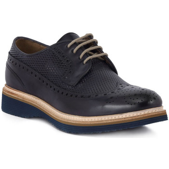 Shoes Men Derby Shoes Kammi BRECOS GAIA VITELLO Blu