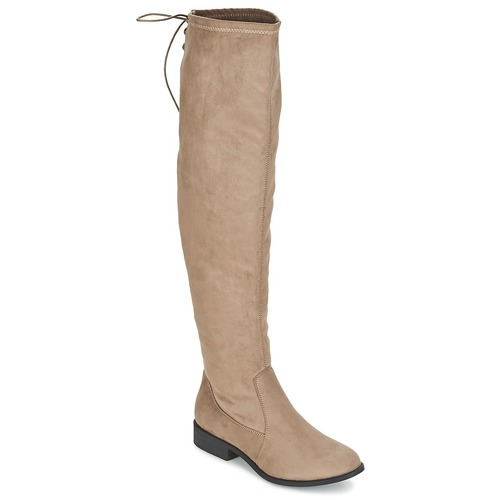 Shoes Women Thigh boots Coolway BOPPY Taupe