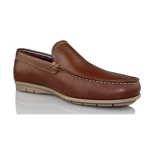 Shoes Men Loafers CallagHan FREE HORSE loafers BROWN