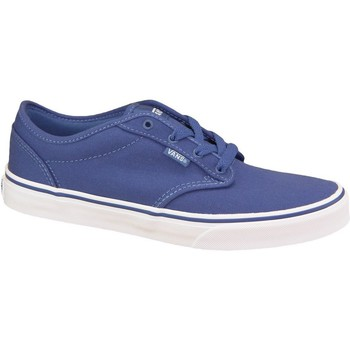 Shoes Children Skate shoes Vans Atwood Canvas Blue