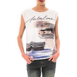 Clothing Women short-sleeved t-shirts Little Marcel Tee shirt Timoti Noir Black