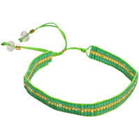 Watches Women Bracelets Amadoria Green and Gold Bracelet Gaia GREEN