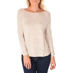 Clothing Women jumpers Tom Tailor Top Boxy Knit Jumper Perle Beige