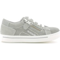 Shoes Boy Low top trainers Nero Giardini P533490M Sneakers Kid Grey Grey