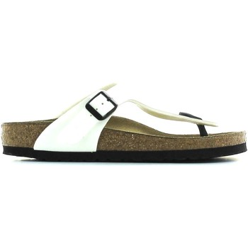 Shoes Men Flip flops Birkenstock 543761 Flip flops Man Weiss Weiss