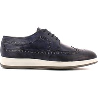 Shoes Men Derby Shoes Rogers 050 Lace-up heels Man Blue Blue