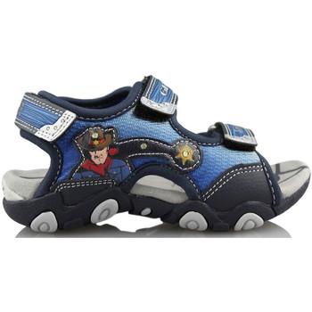 Shoes Children Outdoor sandals Geox STRIKE A. BLUE