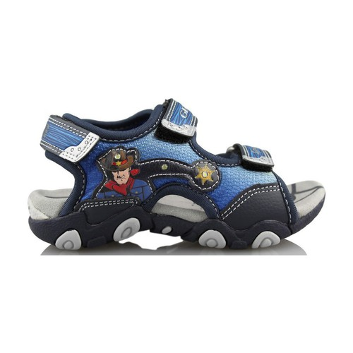 Shoes Children Outdoor sandals Geox STRIKE A. BLUE