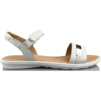 Shoes Girl Sandals Geox SAND MILK WHITE