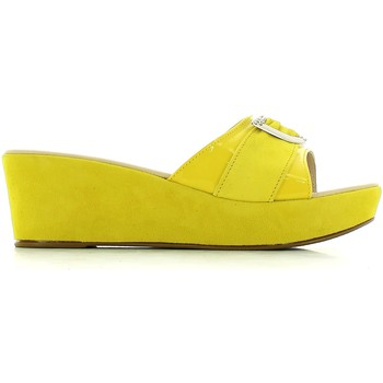 Shoes Women Mules Susimoda 124294 Sandals Women Yellow Yellow