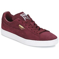 Shoes Low top trainers Puma SUEDE CLASSIC + Bordeaux