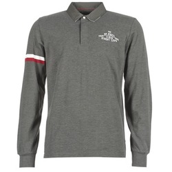 Clothing Men Long-sleeved polo shirts Serge Blanco BIG BALLON RUGBY Grey / Anthracite