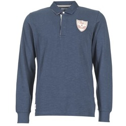 Clothing Men long-sleeved polo shirts Serge Blanco CRUNCH Marine