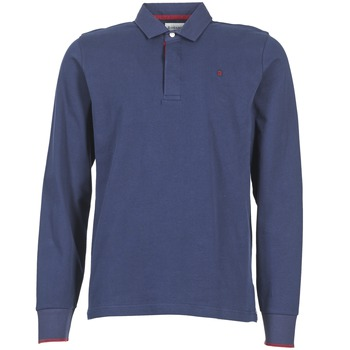 Clothing Men Long-sleeved polo shirts Serge Blanco 3 POLOS Marine