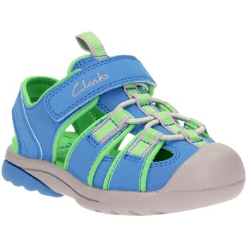Sandals Clarks Beach Mate Boys&039; Blue Infant Sandals