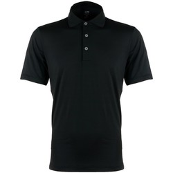 Clothing Men short-sleeved polo shirts adidas Originals Puremotion Polo Black