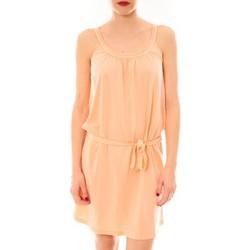 Clothing Women Short Dresses Little Marcel Litlle Marcel Robe Reira Orange Orange