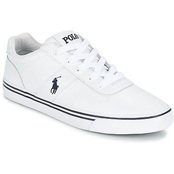 Shoes Men Low top trainers Polo Ralph Lauren HANFORD White