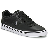 Shoes Men Low top trainers Ralph Lauren HANFORD Black