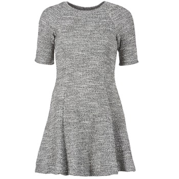 Clothing Women Short Dresses Loreak Mendian ZENIT Grey / Mottled