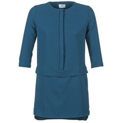 Clothing Women Short Dresses Loreak Mendian ONA Blue