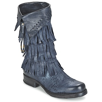 Shoes Women High boots Airstep / A.S.98 SAINT VO Blue