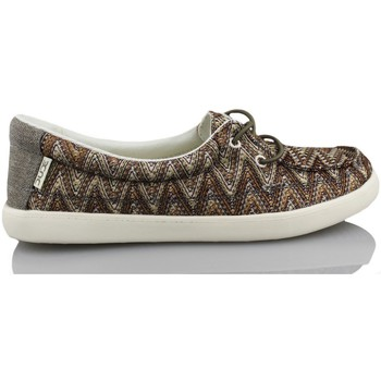 Shoes Women Low top trainers Dude FERRARA BROWN