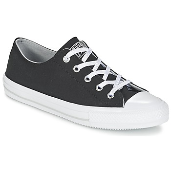 Shoes Women Low top trainers Converse GEMMA TWILL OX Black