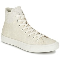 Shoes Hi top trainers Converse CHUCK TAYLOR ALL STAR II  CAOUTCHOUC HI BEIGE