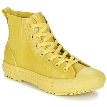 Shoes Women Hi top trainers Converse CHUCK TAYLOR ALL STAR CHELSEA CAOUTCHOUC HI Yellow / Citron