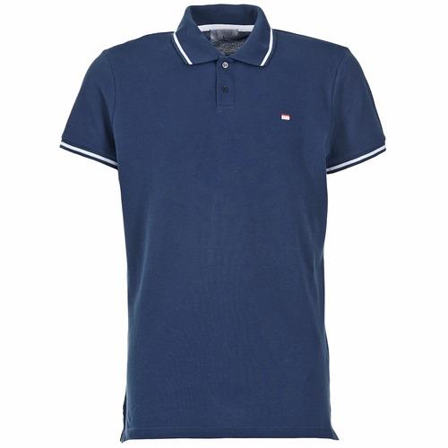Clothing Men Short-sleeved polo shirts Casual Attitude EPIDIN Marine