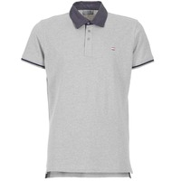 Clothing Men Short-sleeved polo shirts Casual Attitude EFOLI Grey