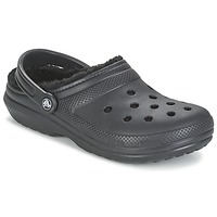 Shoes Clogs Crocs CLASSIC LINED CLOG Black