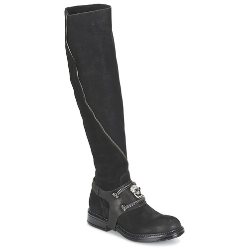 Shoes Women High boots Now CALOPORO Black