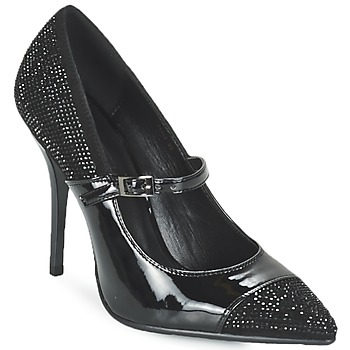 Shoes Women Heels Luciano Barachini POUL Black