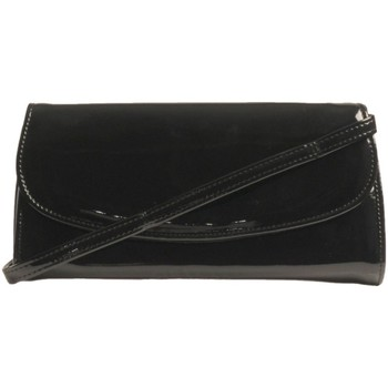Bags Women Pouches / Clutches Hb Claudia Condor Envelope Clutch Bag black