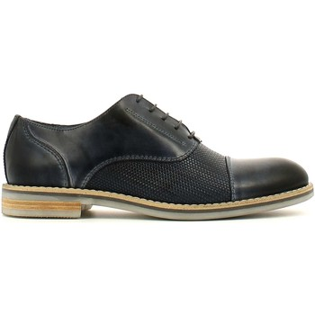 Shoes Men Derby Shoes Rogers 7723A Lace-up heels Man Blue Blue