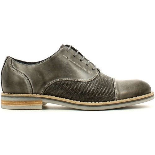 Shoes Men Derby Shoes Rogers 7723A Lace-up heels Man Grey Grey