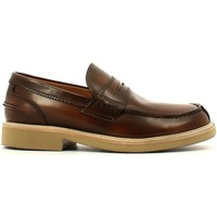 Shoes Men Loafers Soldini 19826 D S81 Mocassins Man Brown Brown