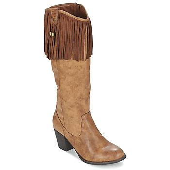 Shoes Women High boots Refresh TRITOU Camel