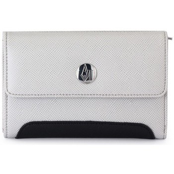 Armani  Jeans  GIORGIO ARMANI  P.FOGLIO  WHITE  womens Purse wallet in multicolour