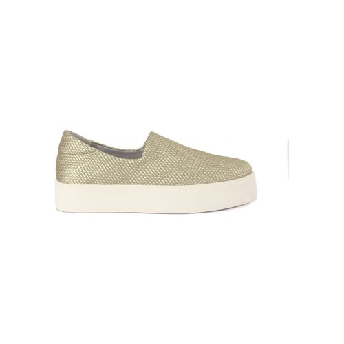 Shoes Women Slip ons Frau HONEY METAL Dorato