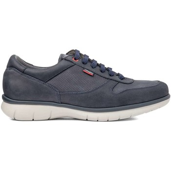 Shoes Men Low top trainers CallagHan 88301 Sneakers Man Blue Blue