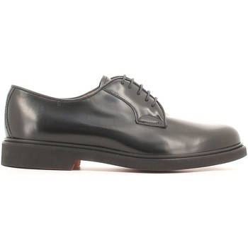 Shoes Men Derby Shoes Soldini 13207 D S76 Elegant shoes Man Black Black