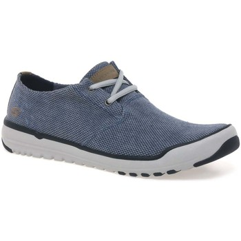 Skechers  Oldis Stound Mens Casual Canvas Shoes  mens Sports Trainers (Shoes) in blue