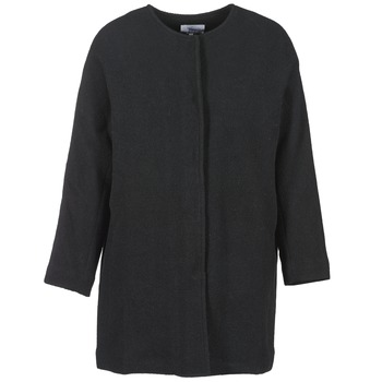 Clothing Women coats Suncoo EMILE Black