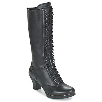 Shoes Women High boots Art HARLEM Black